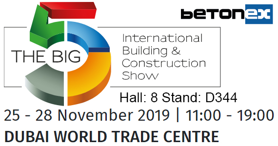 The Bıg 5 Dubai 2019 Exhibition